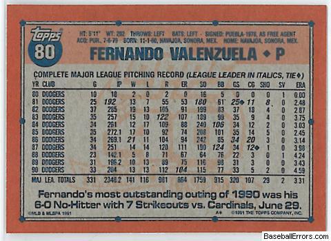Sets Baseball Card Errors And Variations At